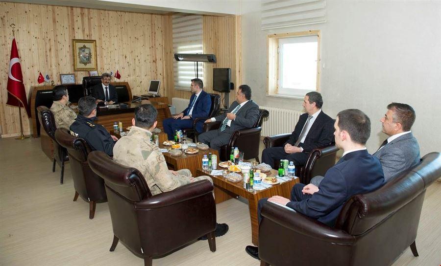Van Valisi Mehmet Emin BİLMEZ, Kapıköy Gümrük Kapısını ziyaret etti