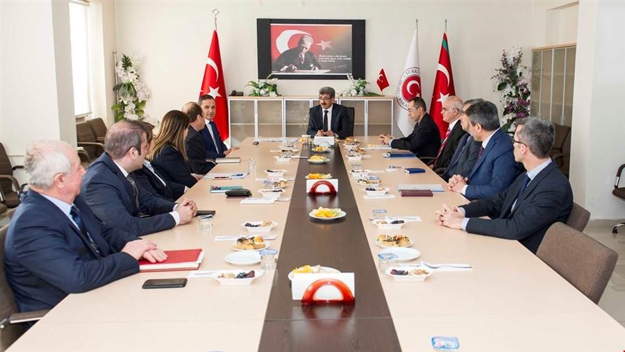 Van Valisi Sayın Mehmet Emin BİLMEZ Bölge Müdürlüğümüzü ziyaret etti