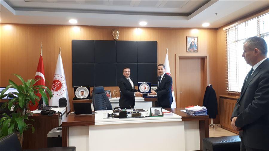 26 Ocak Dünya Gümrük Günü etkinlikleri kapsamında Van Cumhuriyet Başsavcısı Oğuzhan DÖNMEZ makamında ziyaret edildi