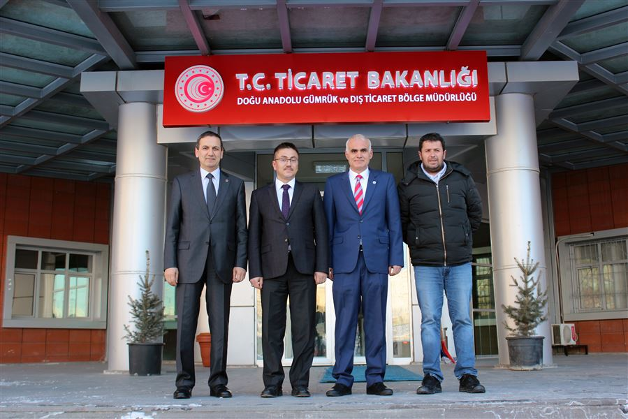 Van Cumhuriyet Başsavcısı Sayın Oğuzhan DÖNMEZ Bölge Müdürlüğümüzü ziyaret etti