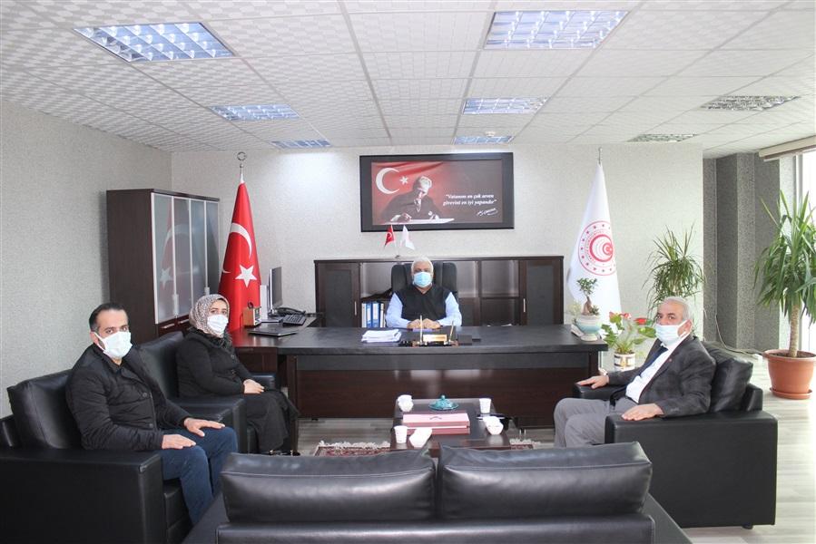 Van Ticaret İl Müdürü Sayın Mehmet Murat KEREMOĞLU, Bölge Müdürlüğümüzü ziyaret etti