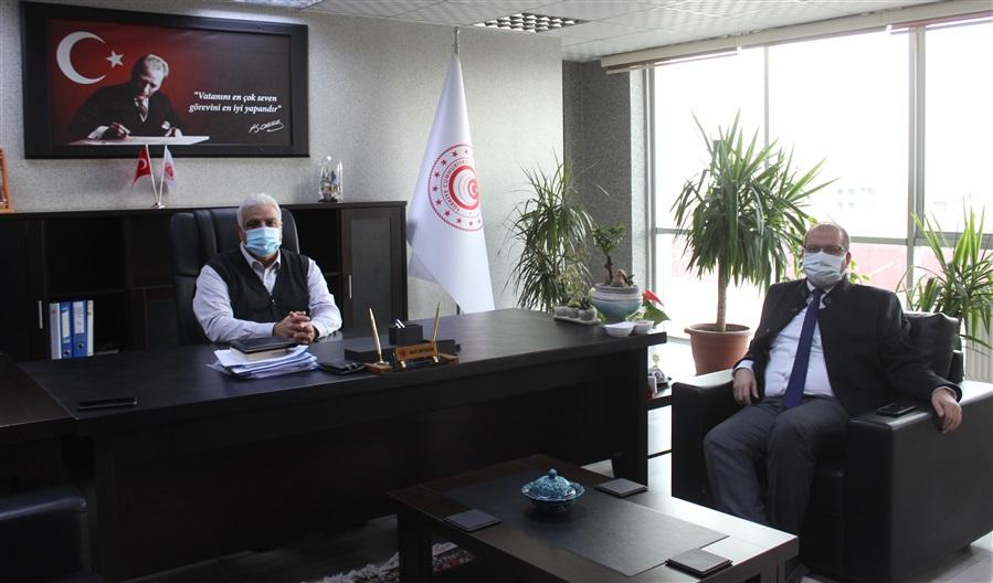 Van Vali Yardımcısı Sayın Turgut Gülen, Bölge Müdürlüğümüzü ziyaret etti