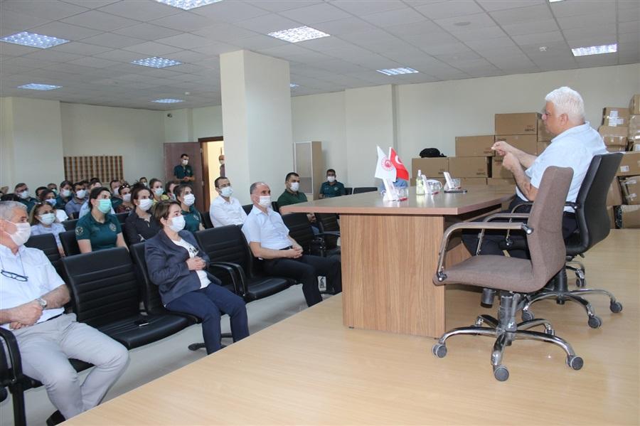 Bölge Müdürlüğümüz ve Bağlantı İdarelerinde, Ticaret Bakanlığı Yer Değiştirme Yönetmeliği Bilgilendirme Toplantısı Yapıldı