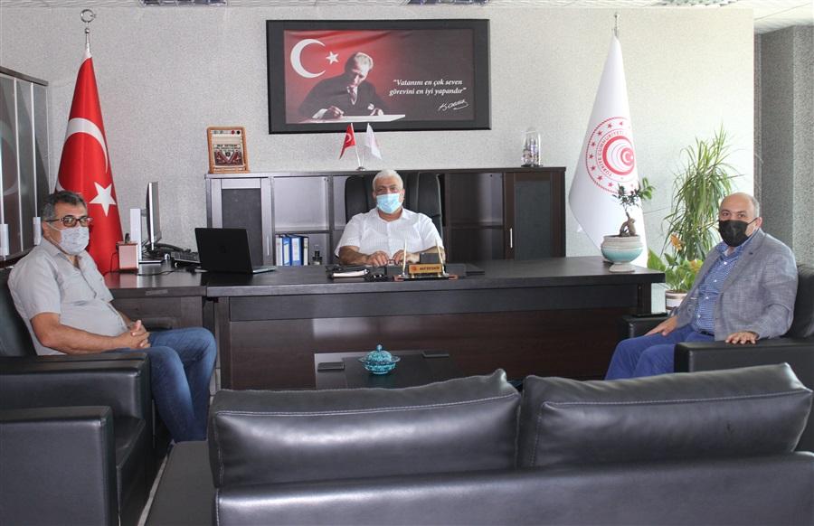 Van Büyükşehir Belediyesi Genel Sekreter Yardımcısı Sayın Esiner ÇETİN'in Bölge Müdürlüğümüze Ziyareti