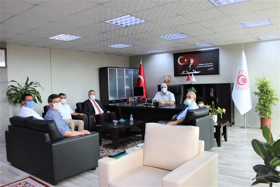 Van Ticaret İl Müdürü Sayın Mehmet Murat KEREMOĞLU, Van İpekyolu Belediye Başkanı Yardımcısı Sayın Birol DUMAN, Van İl Milli Eğitim Müdürü Sayın Hasan TEKVE 'den Bölge Müdürlüğümüze Ziyaret