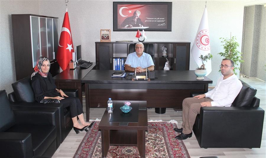 Van Saray Cumhuriyet Savcısı Sayın Esra KIRŞAN'ın Bölge Müdürlüğümüze Ziyareti